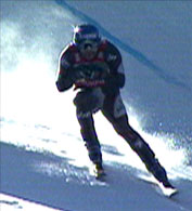 Stephan Eberharter har vunnet fem utforrenn denne sesongen.