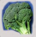 Broccoli passer inn i dietten.