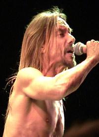 Iggy Pop på Yran 2002. Foto: Øystein Larsen, NRK.
