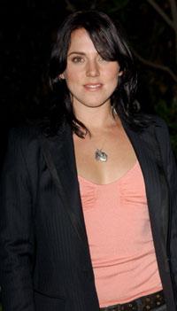 Mel C på vei til Playstation 2 party i Beverly Hills. Foto: Getty Images