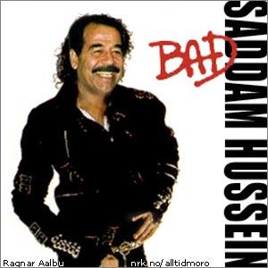 Michael med dårlig innflytelse på Saddam. (Innsendt av Ragnar Aalbu)