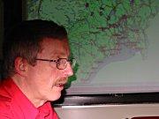 Kåre Rognås, leder ved AMK sentralen i Buskerud. Alle foto: Lars Erik Ringen