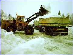 Nok av snø å hente på Heggem på Osmarka