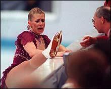 Det hjalp ikke Tonya Harding å sutre til dommerne