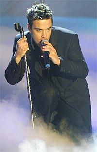 Robbie Williams kommer ikke på Brit Awards i London 20. februar. Foto: Reuters / SCANPIX.