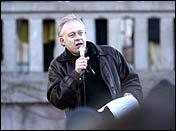 Petter Nome i en appell foran Stortinget