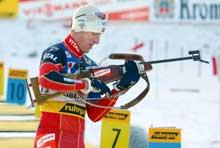 Lars Berger gikk Norge opp på 2. plass: (Foto: Knut Fjelstad/scanpix)