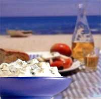Drømmesommer for enhver: Gresk mat og blått hav