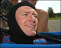 Jan Erik gleder og gruer seg til kjøringen