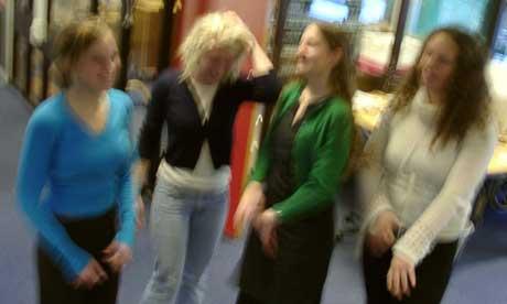 Sigrid Valen Hestetun, Rikke Lina Johansen, Alette Beier og Solrun Søfteland.