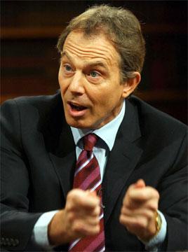 Tony Blair kjempet hardt for å få britene til å støtte krigen mot Irak. (Arkivfoto)