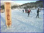 Perfekte løyper på skistadion