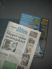 Abonnerer du på Aftenpostens aftenutgave, får du i dag et reklameinnstikk i avisen.