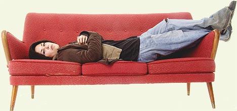- Jeg lever egentlig et veldig kjedelig liv. Folk tror kanskje at jeg er på de kuleste festene, men sannheten er at jeg sover veldig mye, sier Maria Mena. Foto: Thomas Bjørnflaten / SCANPIX.