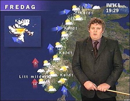 - De e' bra at Norge ga frå seg Jämtland og Härjedalen, ellers hadde det blitt trangt her på skjermen!