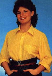 """Carola sang """"Främling"""" i 1983. Foto: carolaonline.com"""
