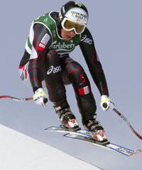 Michaela Dorfmeister var hakket bedre enn Clark (Foto: Reuters)