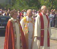 Rosemarie Køhn ble vigslet til biskop i 1993.