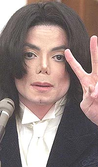 Michael Jackson var for en gangs skyld åpenhjertig overfor en journalist. Foto: Jim Ruyman-Pool / Getty Images.