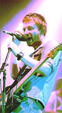 Thom Yorke og Radiohead kommer til Hultsfred. Foto: Getty Images.