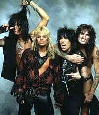 Mötley Crüe, slik vi kjenner dem fra glansdagene. Foto: Promo.