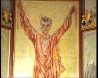 Maleriene i Hamar Domkirke betegnes som unike i norsk kirkehistorie.