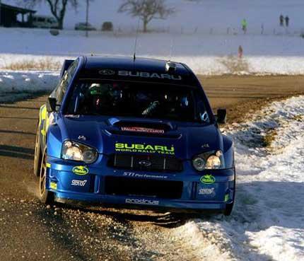 ( Foto: Subaru World Rally fra Solbergs hjemmeside )