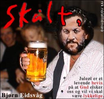 Bjørn Eidsvåg med konseptalbum om øl. Lisa Nilsson bidrar med fnising og udefinerbare lyder på flere av sporene. Terningkast: 4. (Alltid Moro)