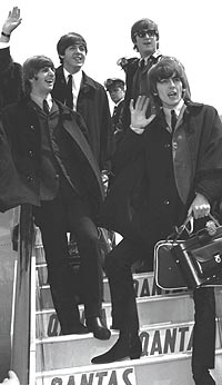 The Beatles i 1965 - tre år før episoden som kunne blitt coverbilde på