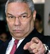 USAs utenriksminister Colin Powell beskylder land som er imot krig for ansvarsvegring.