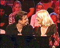 Teodor Janson og Monica Hjelle er ganske glad i hverandre de også.