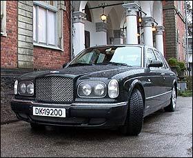 Bentley Arnage - mer standsmessig blir det ikke