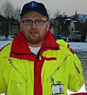 Ambulansearbeider Roar Ask.