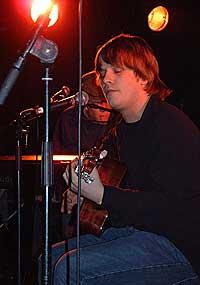 Jim Stärk på by:LArm 2003. Foto: Per Ole Hagen.
