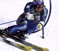 Truls Ove Karlsen kjørte ikke godt i storslalåm VM i St. Moritz (Foto: Janerik Henriksson/Scanpix)