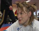 Gudrun Høie vann si klasse i Nordvestcupen i bryting.