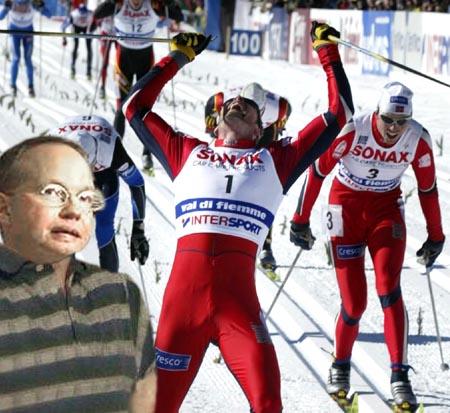En utgrått Gerhard Helskog kan bare konstatere at forsøkene mislyktes.