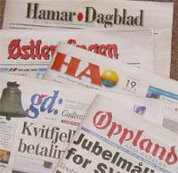 Flere lokalaviser i Hedmark og Oppland sliter.