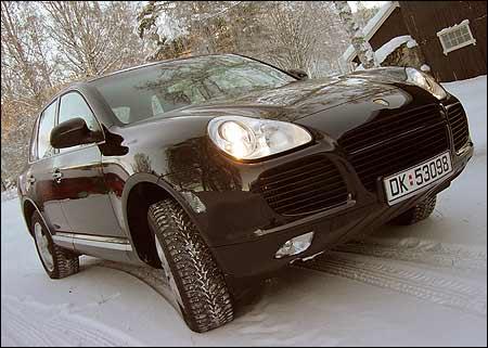 SUVirutten tei med Porsche Cayenne