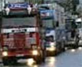 Lastebilsjåføren stanset trafikken på E6 ( Ill. foto )