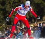 Trond Einar Elden i VM-sprinten (Foto: Erik Johansen/Scanpix)