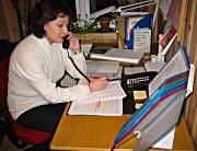 Daglig leder for Røde Kors Telefonen for barn og ungdom, Gro Rypaas. Foto Astrid Randen.