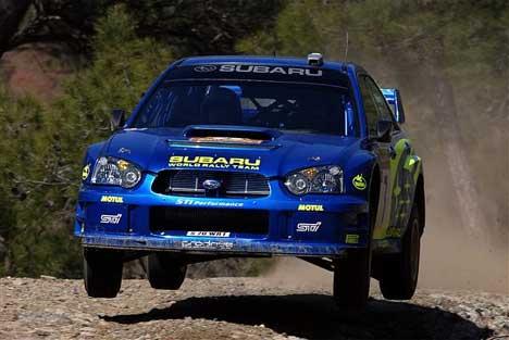 Rally Tyrkia fikk en brå slutt for Petter Solberg (Foto: www.swrt.com)