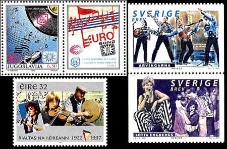 Flere land har tidligere gitt ut frimerker med motiver fra Grand Prix.