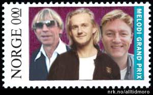 Postens nye frimerke gjør stas på norske artister