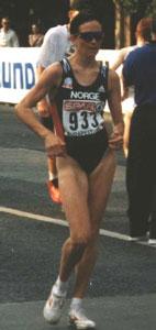 Kjersti Tysse Plätzer tok sølv i OL i Sydney.