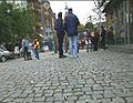 Tigging på gata oppleves av mange som et problem. (Illustrasjonsfoto).