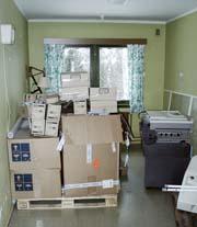 Pasientrom brukes til lager.