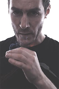Massive Attacks 3D eller Robert Del Naja som han egentlig heter. Foto: Promo.