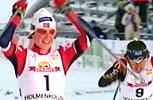 Skari var jublende glad over å være tilbake på toppen (Foto: NRK)